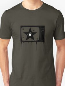 tv star white Unisex T-Shirt
