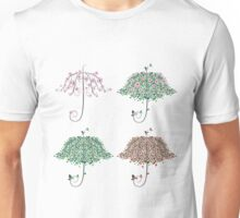 Umbrella Shape Tree 2 Unisex T-Shirt
