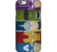 heroes or superheroes? iPhone Case/Skin
