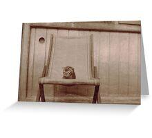 Vintage Kitten Greeting Card