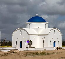 Saint Nicholas Church in Paphos Cyprus by Andreas Ioannou