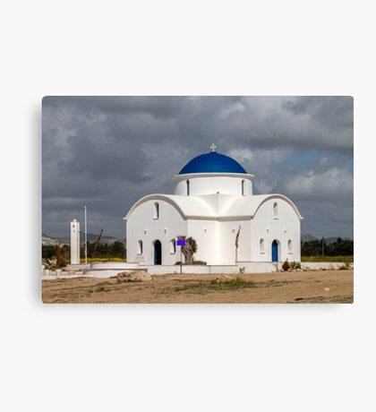 Saint Nicholas Church in Paphos Cyprus Canvas Print
