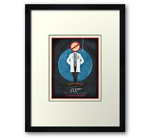 Dr. No Framed Print