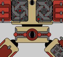 Robot Programme Update Sticker
