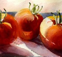 Tomatoes by Mrswillow
