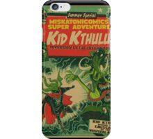 Miskatonicomics Super Adventure #11 Presents Kid Kthulu iPhone Case/Skin