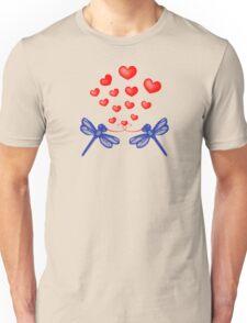 Dragonfly Love Unisex T-Shirt