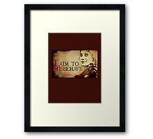 Starbuck has a Browncoat Moment Framed Print