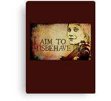 Starbuck has a Browncoat Moment Canvas Print