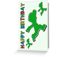 Happy Birthday - Luigi Greeting Card