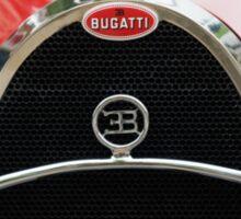 Red Bugatti Grille Sticker