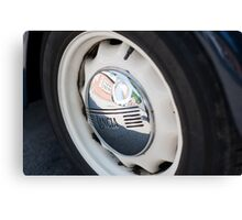 Lancia Aprilia Wheel Canvas Print
