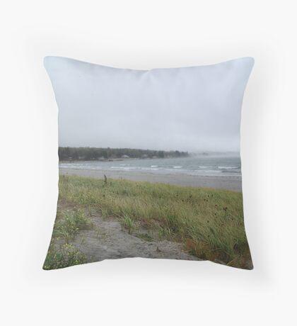 Summerville Beach Throw Pillow