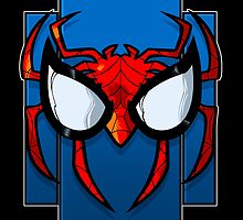 Spidey face by dlxartist