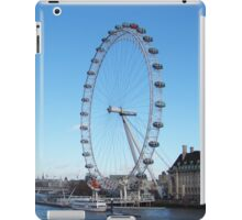 London Eye And River Thames iPad Case/Skin