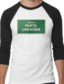 WWE - Parts Unknown Men's Baseball ¾ T-Shirt