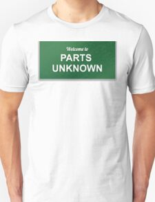 WWE - Parts Unknown T-Shirt