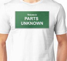 WWE - Parts Unknown Unisex T-Shirt