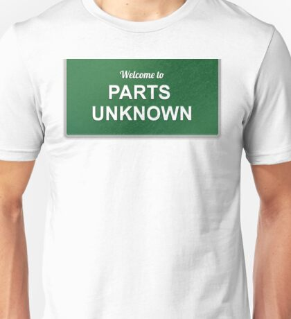 WWE - Parts Unknown Unisex T-Shirt