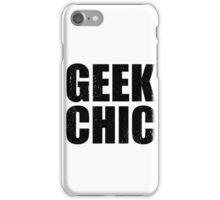 Geek Chic - Dark iPhone Case/Skin