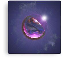 bubble world Canvas Print