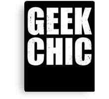 Geek Chic - Lite Canvas Print