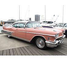 A Pink Cadillac Photographic Print