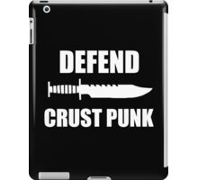 Defend Crust Punk iPad Case/Skin