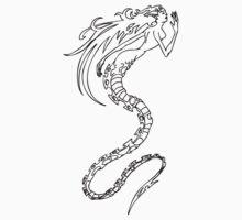 mermaid skeleton One Piece - Short Sleeve