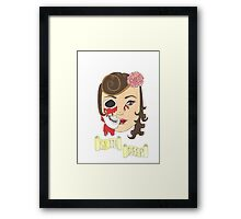 Beauty is Only Skin Deep Framed Print
