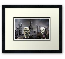 Martians NYC #  2 Framed Print
