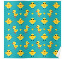 Chicks and Ducklings Poster