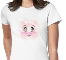 simple beauty Womens Fitted T-Shirt
