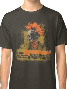 Punk skull Classic T-Shirt