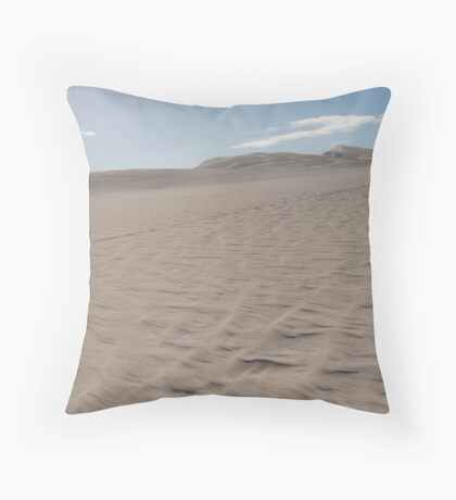 Lancelin Dunes Throw Pillow