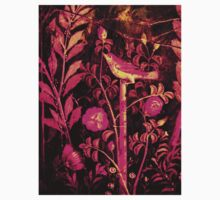 POMPEII COLLECTION NIGHTINGALE WITH PINK ROSES Kids Clothes