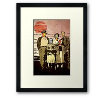 ''Luchadores Have Families Too'' Framed Print