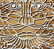Greenman - natural Sticker
