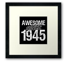 Legend Since 1945 Framed Print