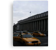 Hey Taxi! Canvas Print