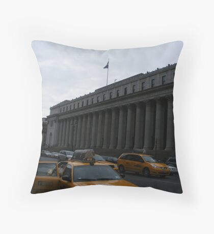 Hey Taxi! Throw Pillow