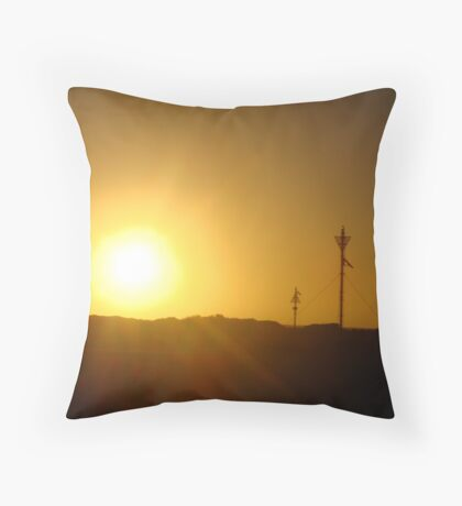 Day 2 Lancelin Sun Throw Pillow