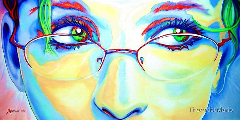 Eyes for Brian (24x48, Oil on Canvas) by TheArtistMario