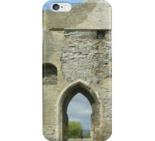 Newark Castle Ruin - Nottinghamshire iPhone Case/Skin