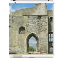 Newark Castle Ruin - Nottinghamshire iPad Case/Skin