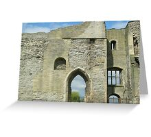 Newark Castle Ruin - Nottinghamshire Greeting Card
