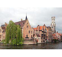 Brugge - Vlaanderen - Belgium Photographic Print