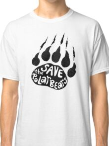 Save The Polar Bears Classic T-Shirt