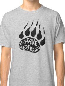 Save The Polar Bears Classic T-Shirt
