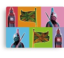 Royal Britania Canvas Print